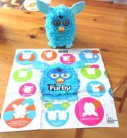 Original hellblauer Furby von 2012