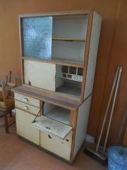 Küchenschrank Küchenvitrine Küchenbuffet alt antik
