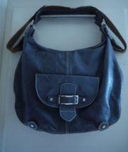 Lederhandtasche von Picard jeansblau