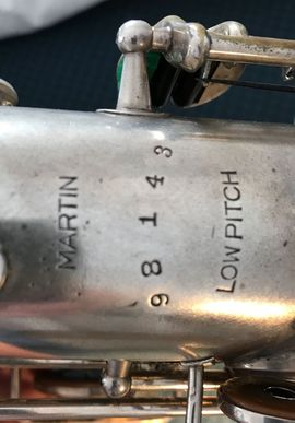 Bild 4 - Vintage Altsaxophon Martin - Rieseby