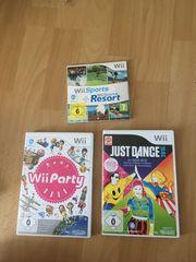kaum genutzte Nintendo Wii Spiele