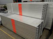 Durchgang Vollaluminium 257 61 Gerüst