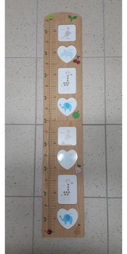 Messlatte Messleiste Größenmaß für Kinder
