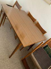 Tisch Stuhl Esstisch Midcentury 50er