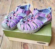 KEEN Whisper Outdoor-Trekking-Sandale für Mädchen