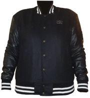 College Jacke schwarz