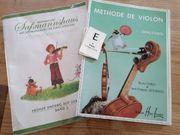 Violinen Heft Methode de Violon