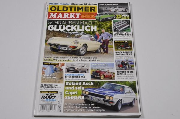Oldtimer MARKT 10 2014 - Alfa-Romeo