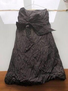 Festliche Abendbekleidung, Damen und Herren - Marie Blanc trägerloses Kleid Gr