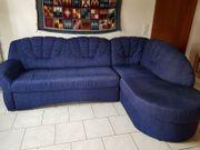 Moderne Couch mit Ottomane Recamiere