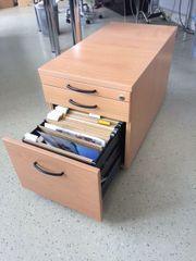 2 Schreibtisch-Unterbau Container