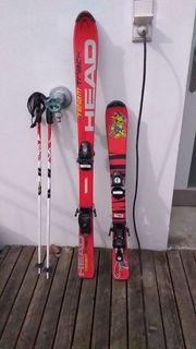 2 Paar Kinder Ski Schi