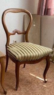 Stuhl aus der Jugendstilzeit