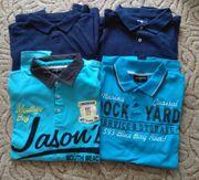 4 Polo-Shirt s Größe L