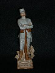 alte Bisquit Porzellanfigur Infanterist Österreich
