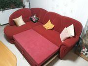 Kuschel-Eck- Couch mit Osmane und