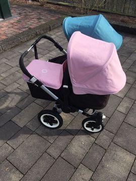 Bugaboo Donkey Geschwisterwagen 1x Babyschale: Kleinanzeigen aus Tettnang - Rubrik Kinderwagen