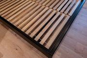 Futon Massivholz-Bettgestell für 160cm breite