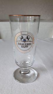 Bierglas Brauerei Rapp