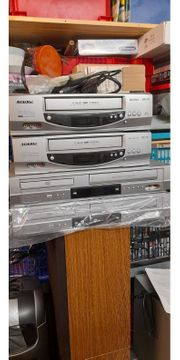 4 mal VHS Videorecorder