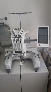 Stickmaschine Brother PR 650 voll