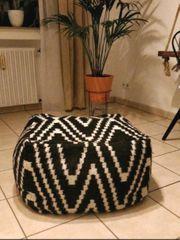 Stylischer Home24 Pouf Sitzsack