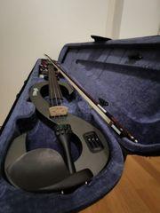 Zwei Geigen E-Geige Staag und