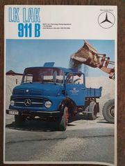 8 x Mercedes Benz Prospekte