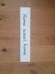 Schild aus Holz