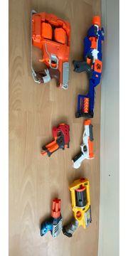 Nerf Pistolen super Zustand