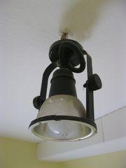 alte rustikale Deckenlampe Deckenleuchte