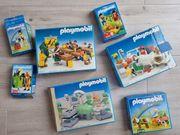 7 Verschiedene PLAYMOBIL-Sets teilweise aus