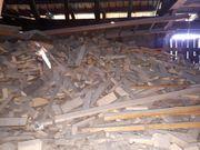 Alt- Brennholz zu verschenken