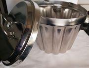 Puddingform Edelstahl-Ausführung mit Innenrohr und