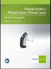 Hörgeräte Phonak Cassia M H2O