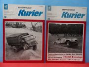 Oldtimer Motorsport Zeitschrift KFZ-Kurier 1969 u 70