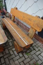 Gartenbank Holzbank 180 cm massiv