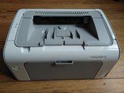 Laserdrucker Schwarz Weiß HP Laserjet