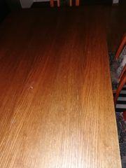 Massiv Holz Tisch mit 5