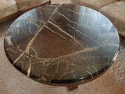 Marmortisch rund Durchmesser 95cm