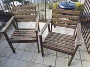 Gartenstühle holz