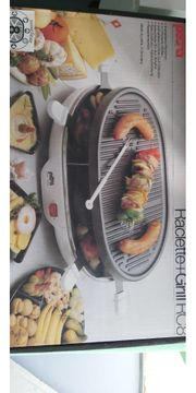 Raclette und Grill