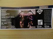 Karte für Metallica 25 08