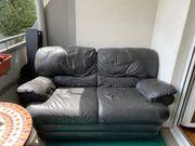 Kunstleder Couch zu verschenken