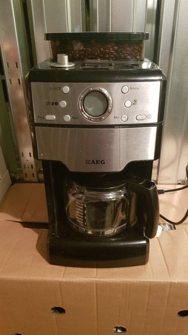 AEG Kaffeemaschine mit Mahlwerk