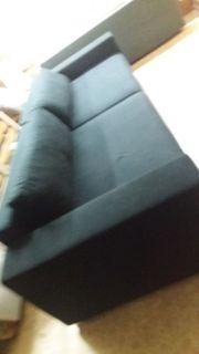 Sofa XXL in Schwarz