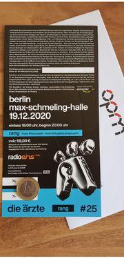 Die Ärzte - Ticket BERLIN 19