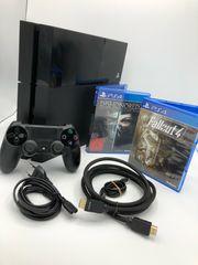 Playstation 4 Konsole schwarz 500GB