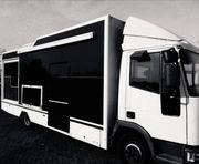 Food Truck startfertig eingerichtet