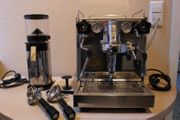 ECM Siebträger-Espressomaschine ECM Casa Kaffeemühle
